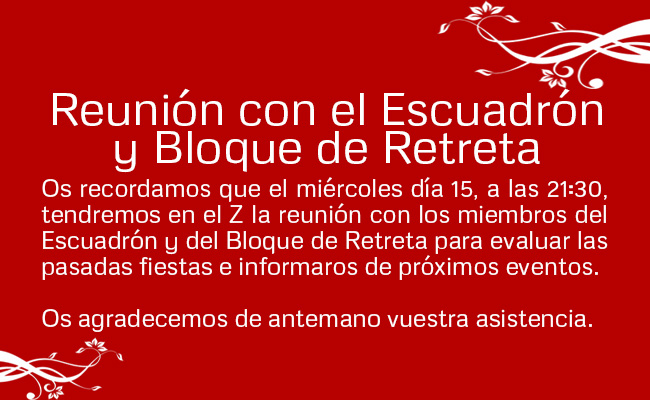 2016 noticia reunion escuadron y bloque